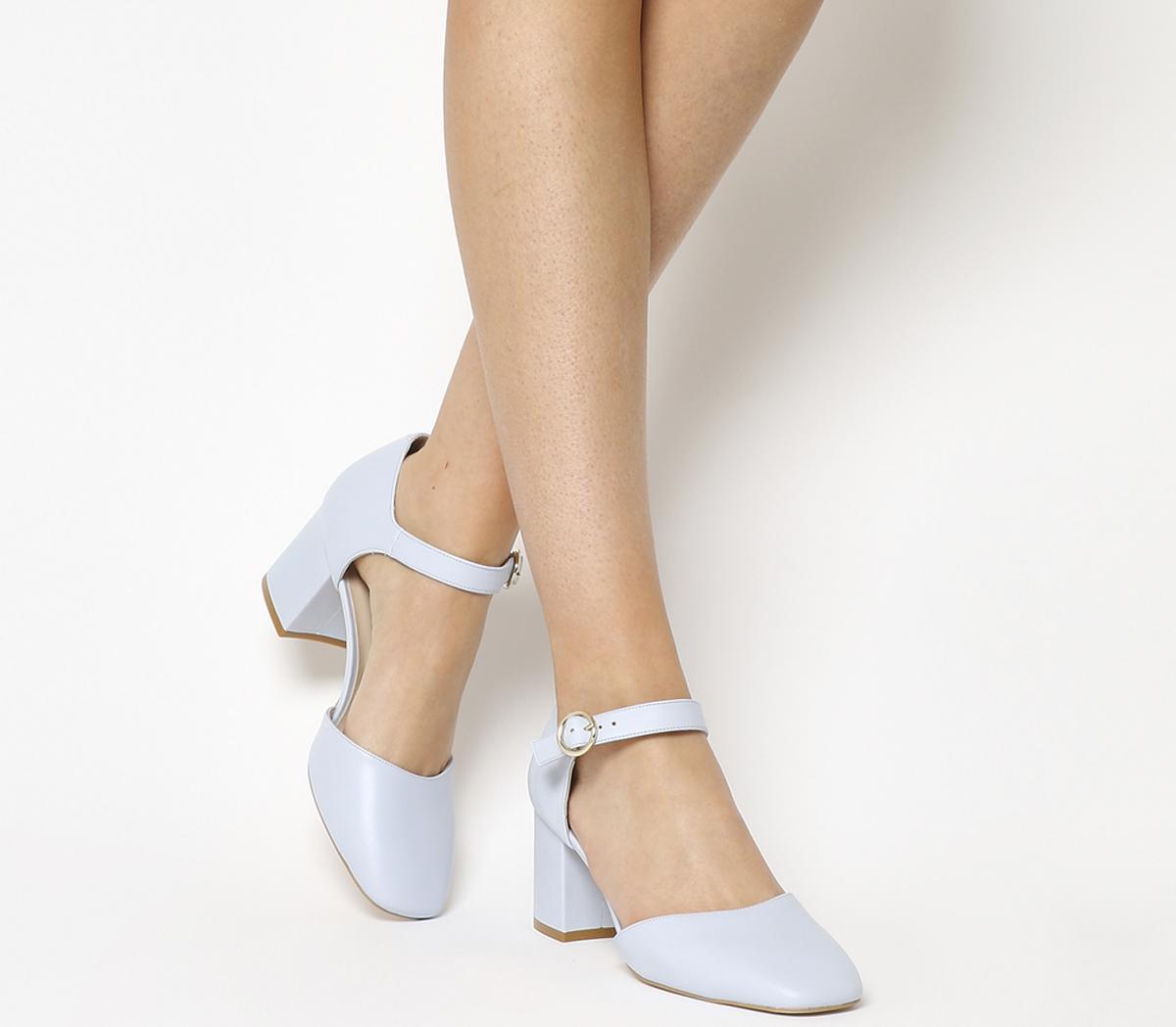 Milkshake Mary Jane Block Heels