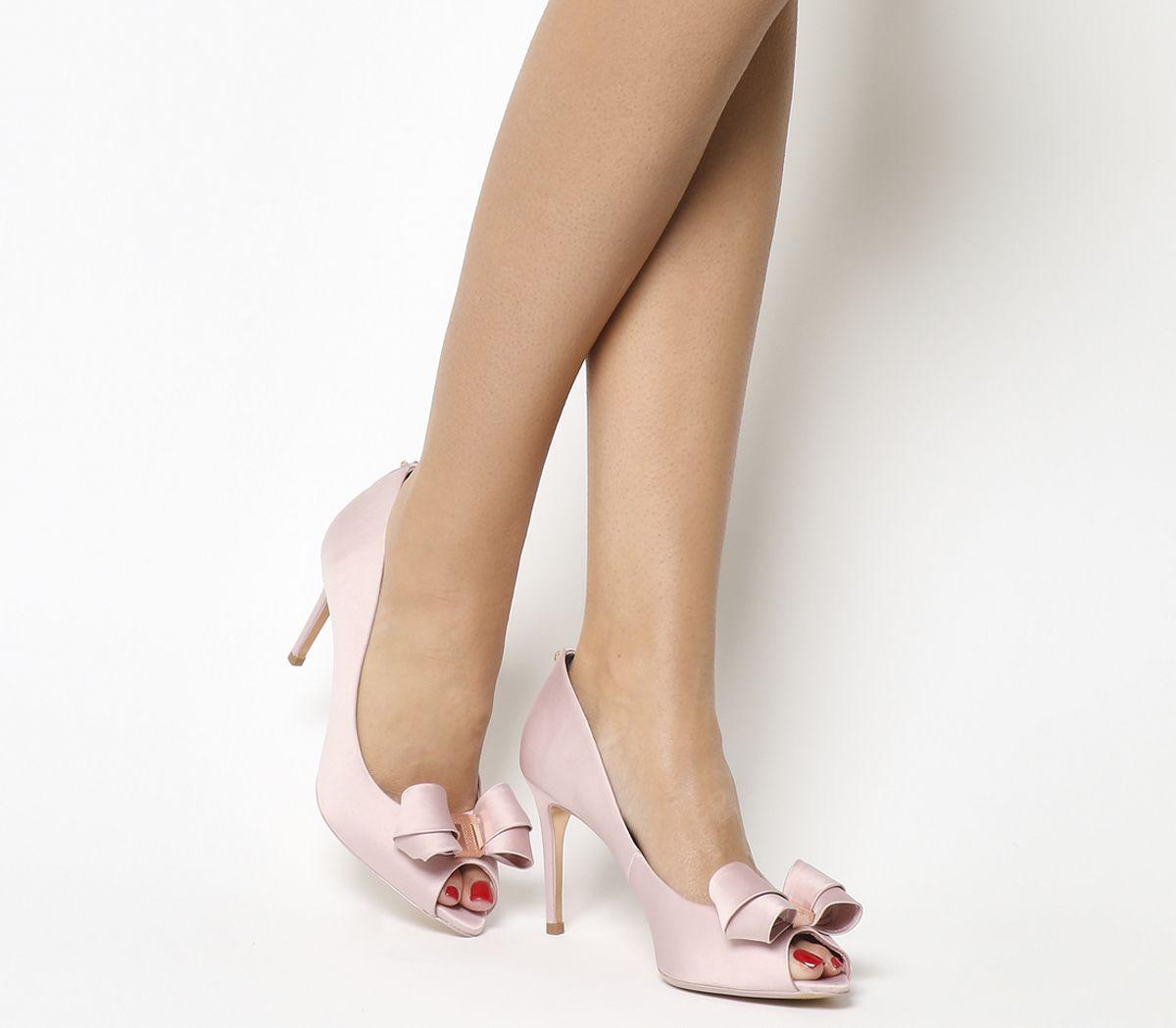 ea128c055214 Ted Baker Vylett Peep Toe Heels Light Pink - High Heels