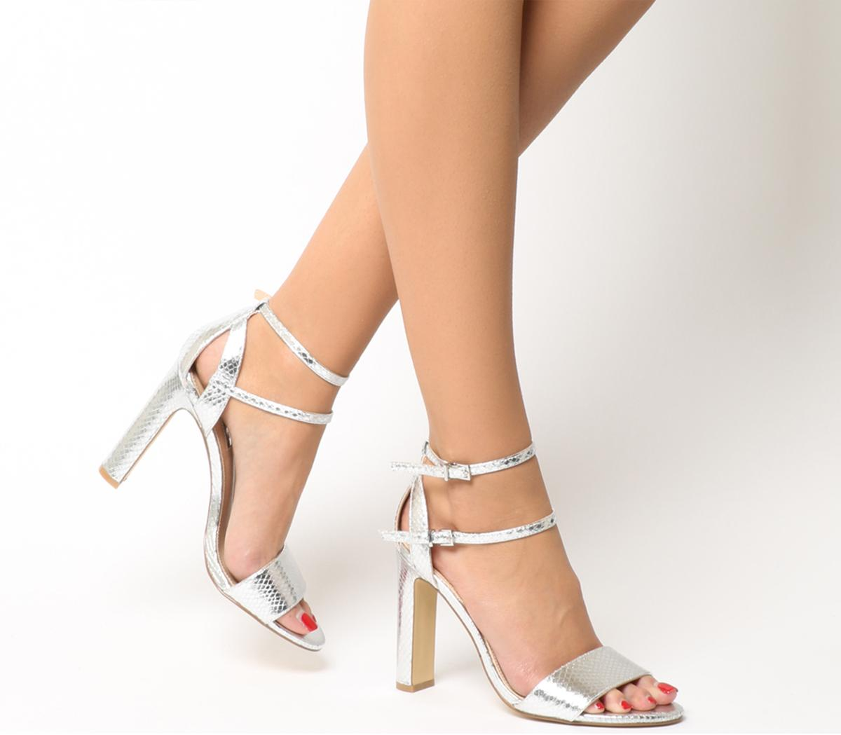 Hypnotize Heels With Ankle Straps