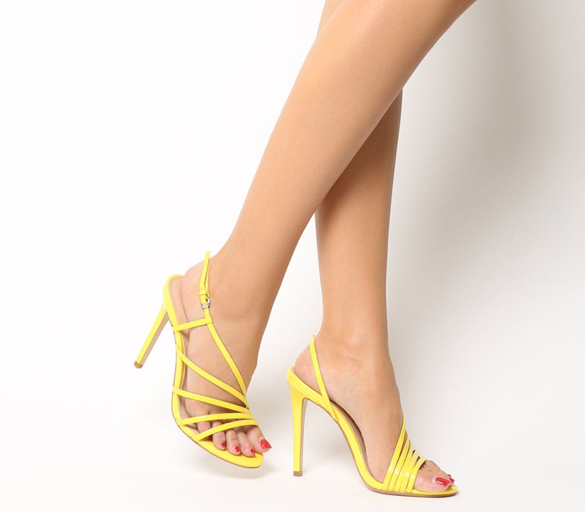 1c5f16235b Office Hamsa Strappy Heels Yellow - High Heels