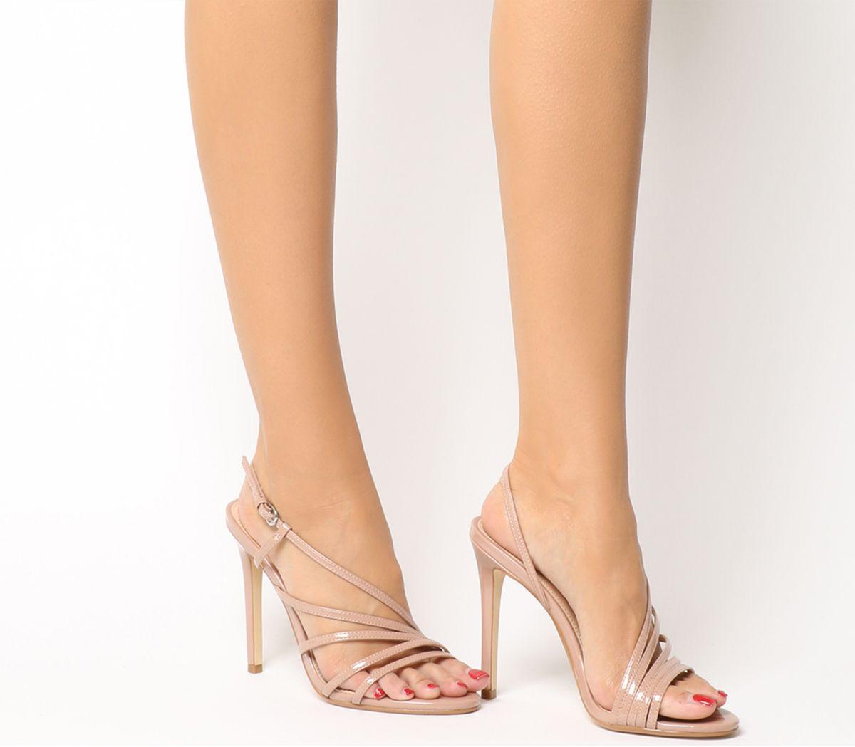 690795a0f5 Office Hamsa Strappy Heels Nude - High Heels