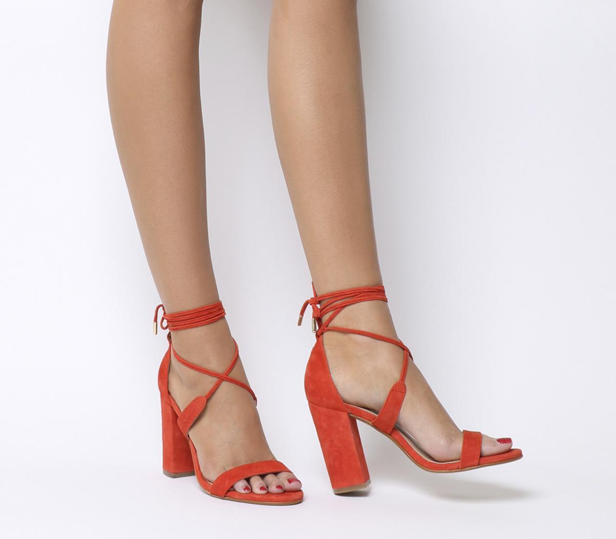 Hopper Tie Up Block Heels