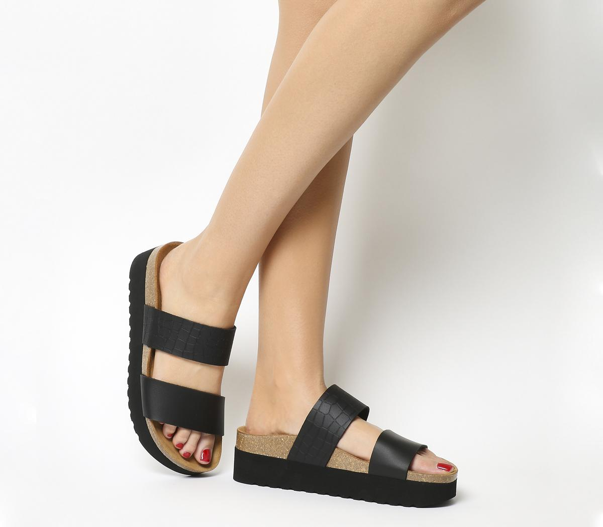 Magnetic 2 Double Strap Flatforms
