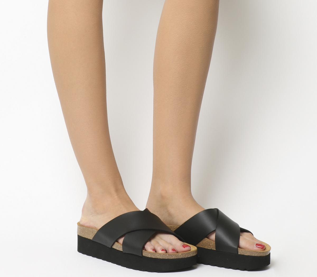 Warner Double Strap Footbed Sandals