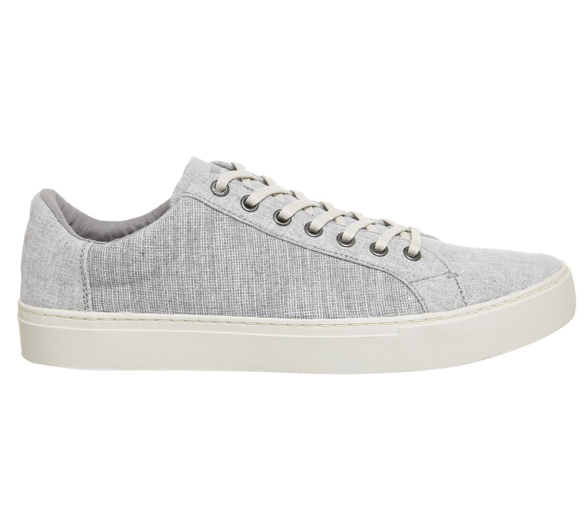 d02b52b9d62 Toms Lenox Trainers Drizzle Grey Chambray Mix - Casual