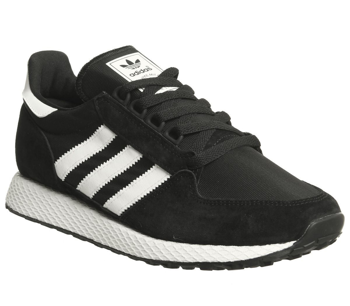 finest selection 2063e 81dc5 adidas Forest Grove Trainers Core Black White - Hers trainers