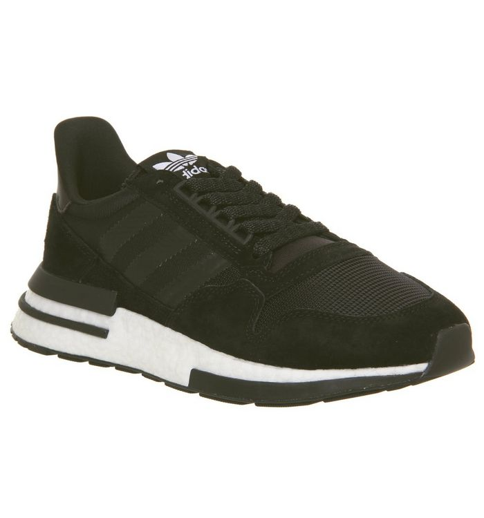 fa4774e1f1046 adidas Zx500 Rm Trainers Core Black White - Hers trainers