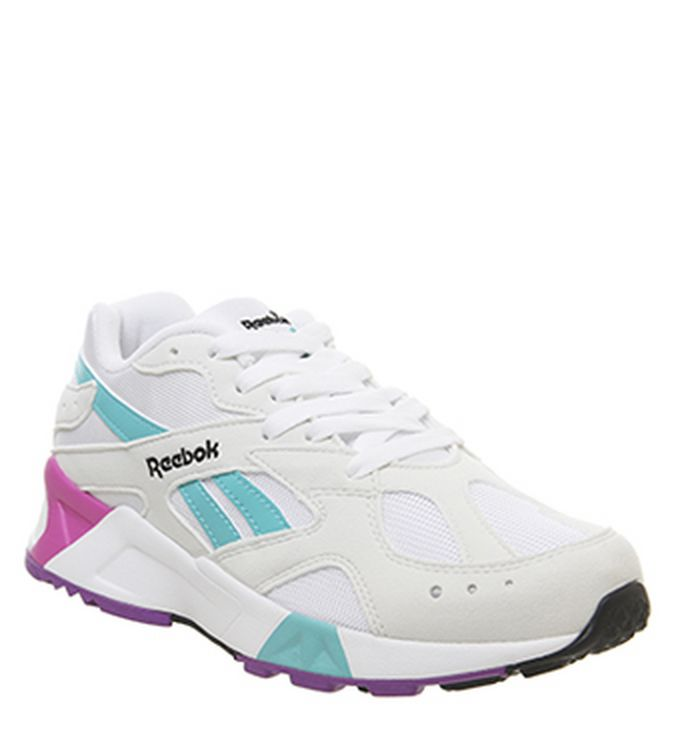 fcf54bdc23886 04-04-2019 · Reebok Aztrek Og Trainers Top True Grey Timeless Teal. £79.99.  Quickbuy
