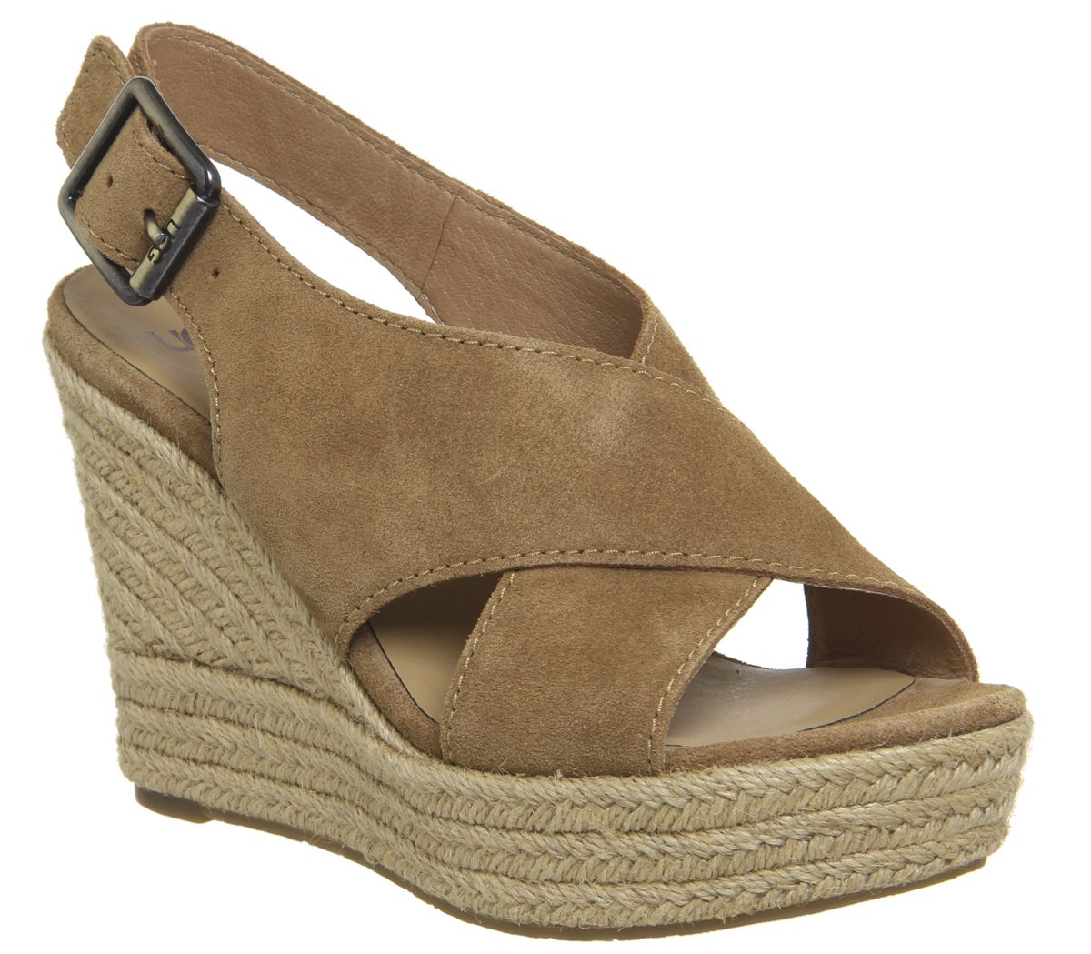 4355dd9183 UGG Harlow Wedges Chestnut - Wedges
