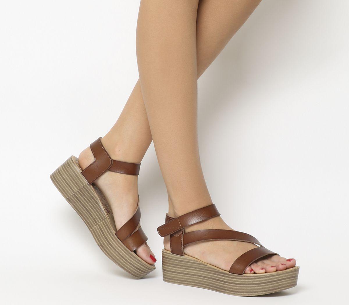 e3a3656592 Blowfish Lover Flatform Sandals Russet Dyecut - Mid Heels