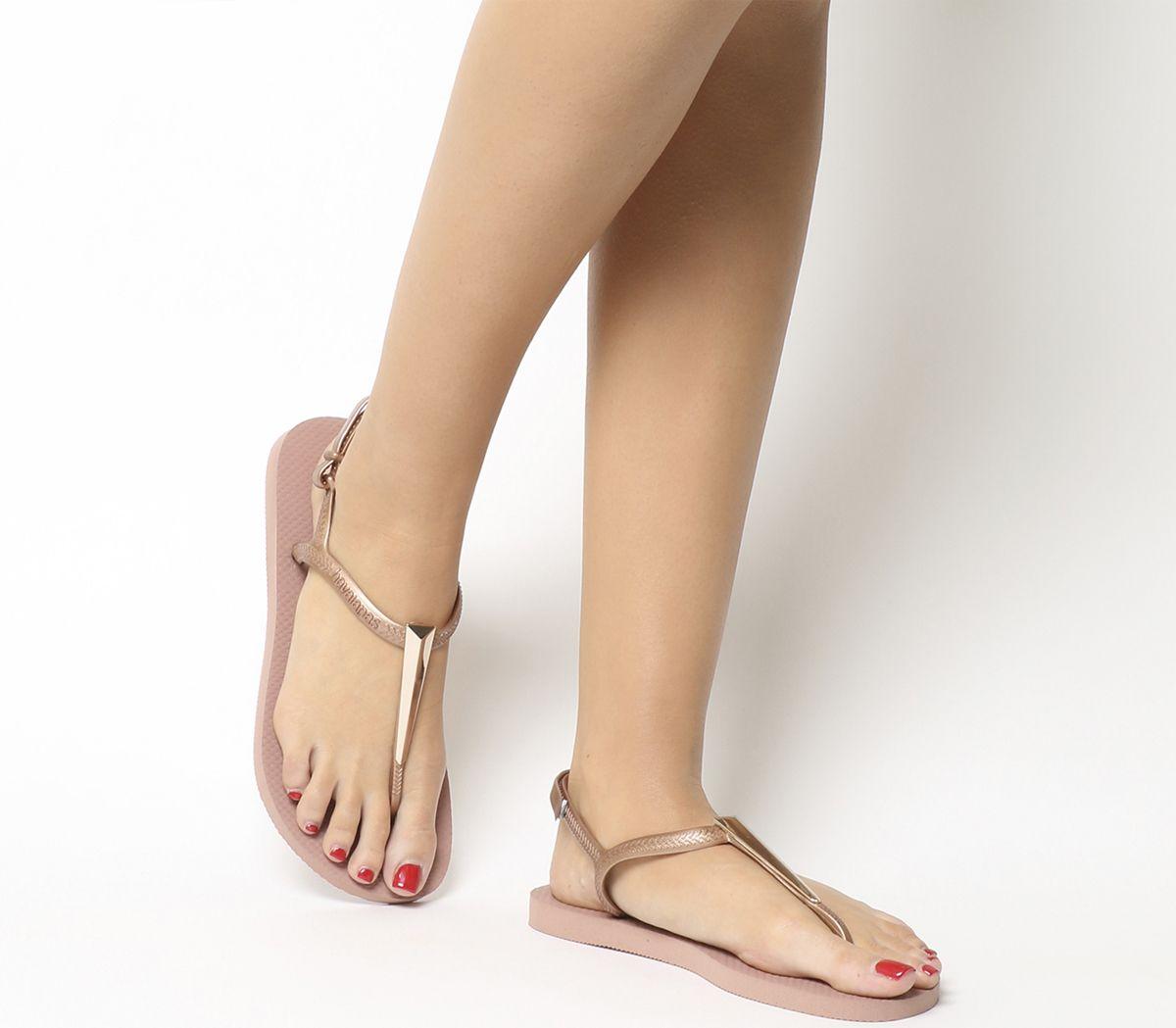 04de531ee Havaianas Freedom Sl Maxi Flip Flops Rose - Sandals