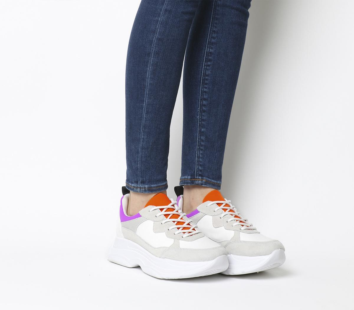 Fizzled Chunky Lace Up Trainers