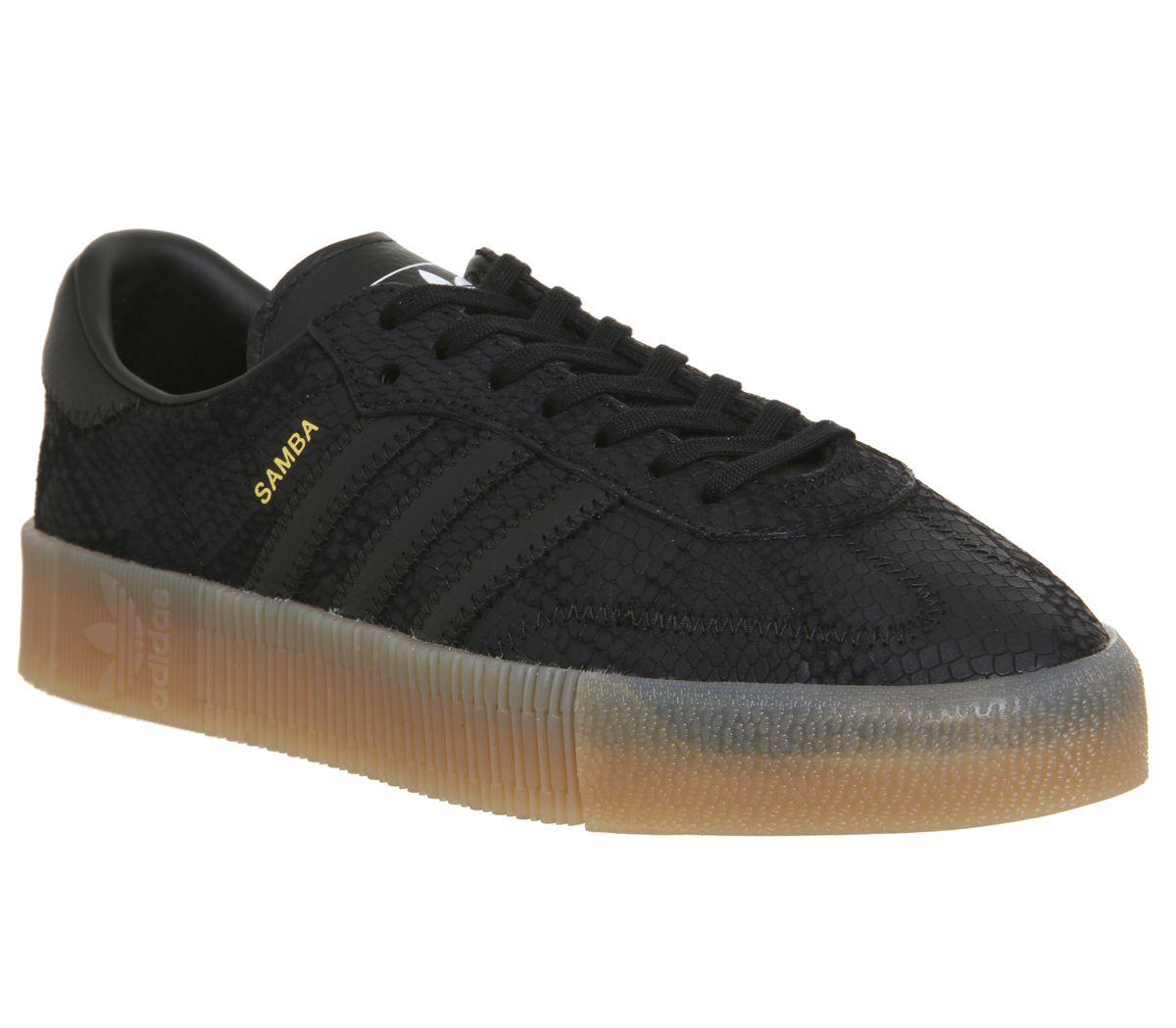 a8a6ea96f41e5 adidas Samba Rose Trainers Core Black Gum - Hers trainers
