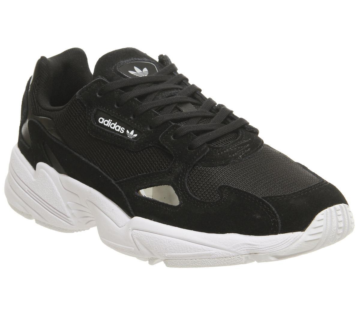 Core Adidas Falcon Trainers Sneaker Black Damen White 8wXnk0OP