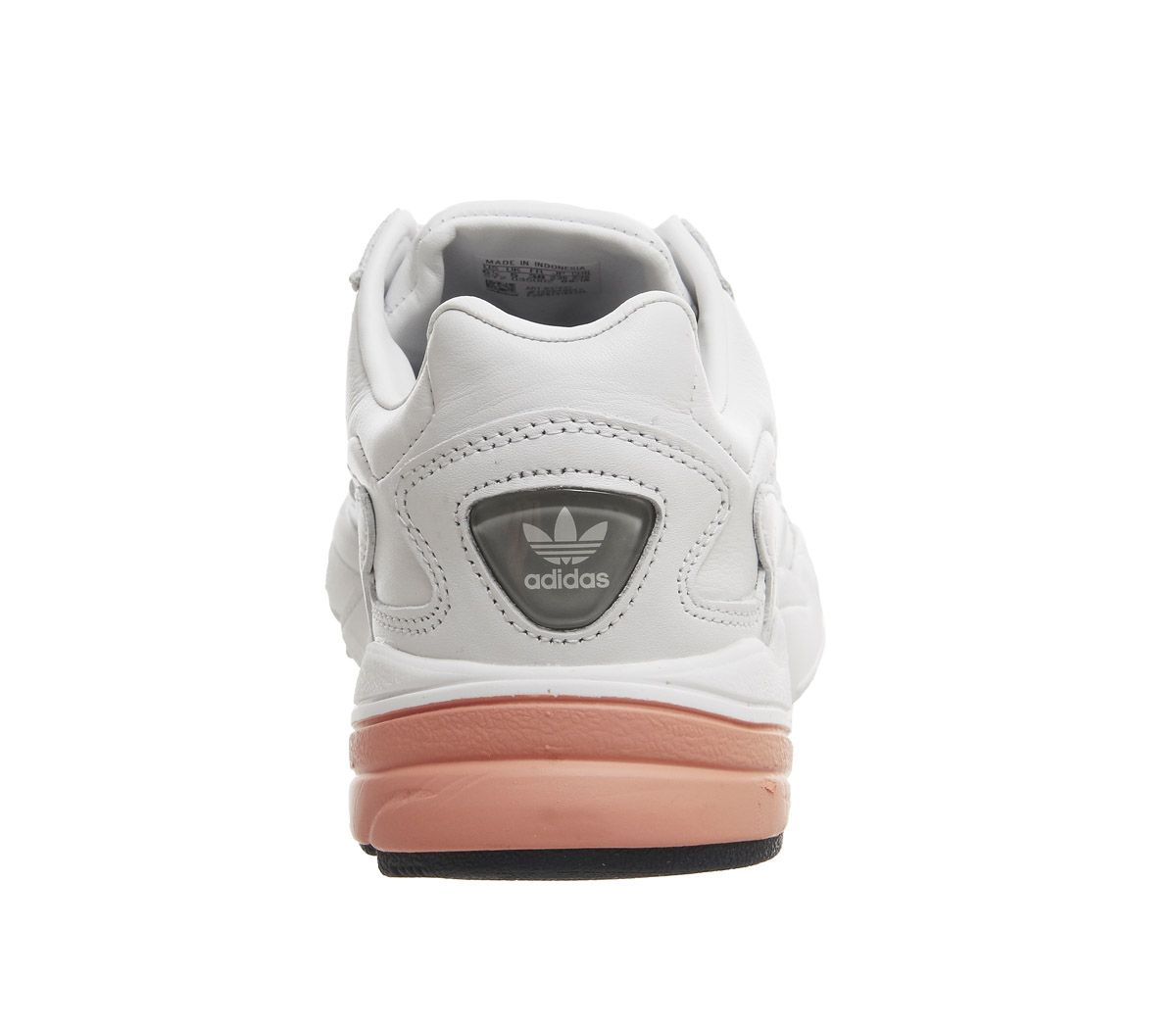 9759f7987 adidas Falcon Trainers Crystal White Easy Orange - Hers trainers