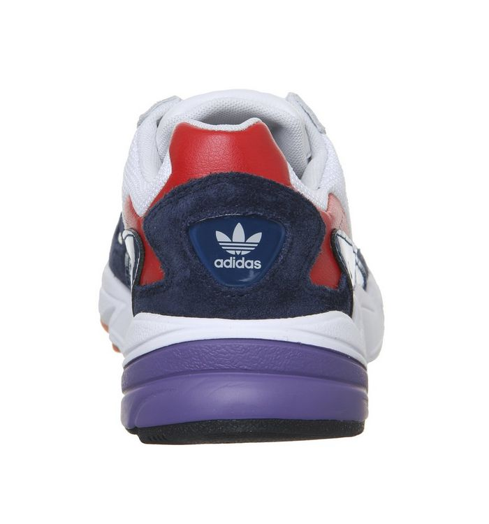low priced 0649c 70cd4 Falcon Trainers  adidas, Falcon Trainers, Crystal White Collegiate Navy  Red  Falcon Trainers  Falcon Trainers  Falcon Trainers ...