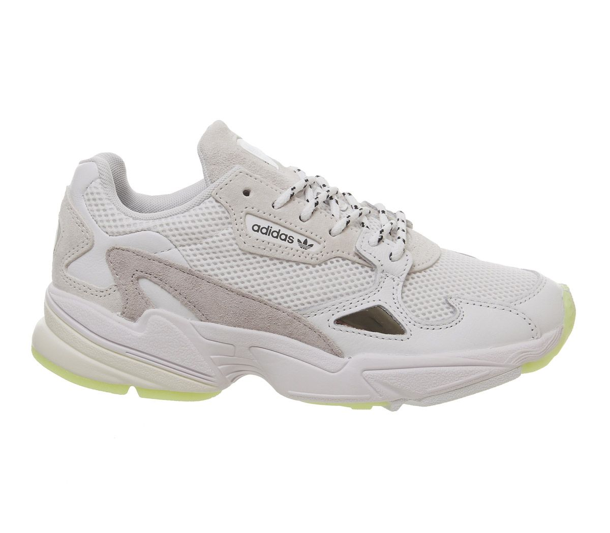 low cost 6cd88 34428 adidas Falcon Trainers Hi Res Yellow Japan - Hers trainers