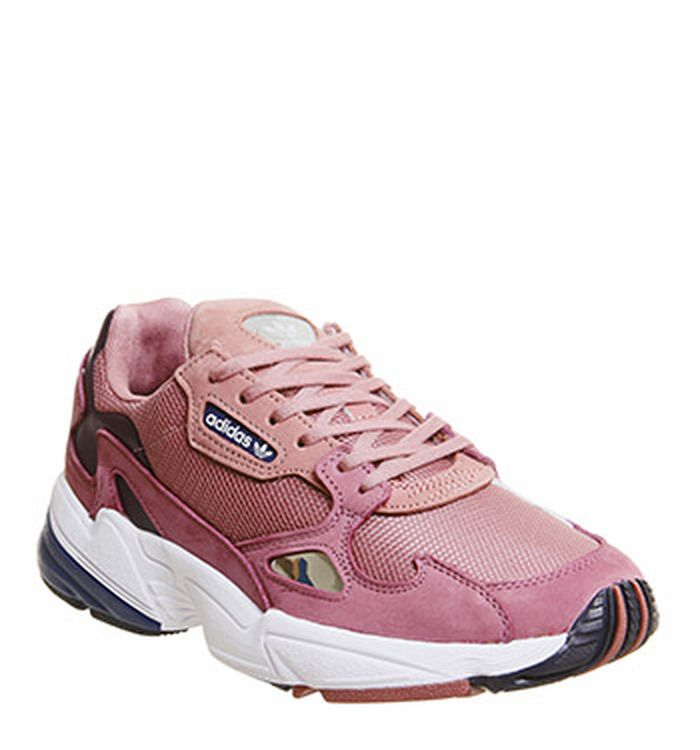 329dbc3a525 Launching 20-11-2018 · Adidas Falcon Trainers Pink Dark Blue