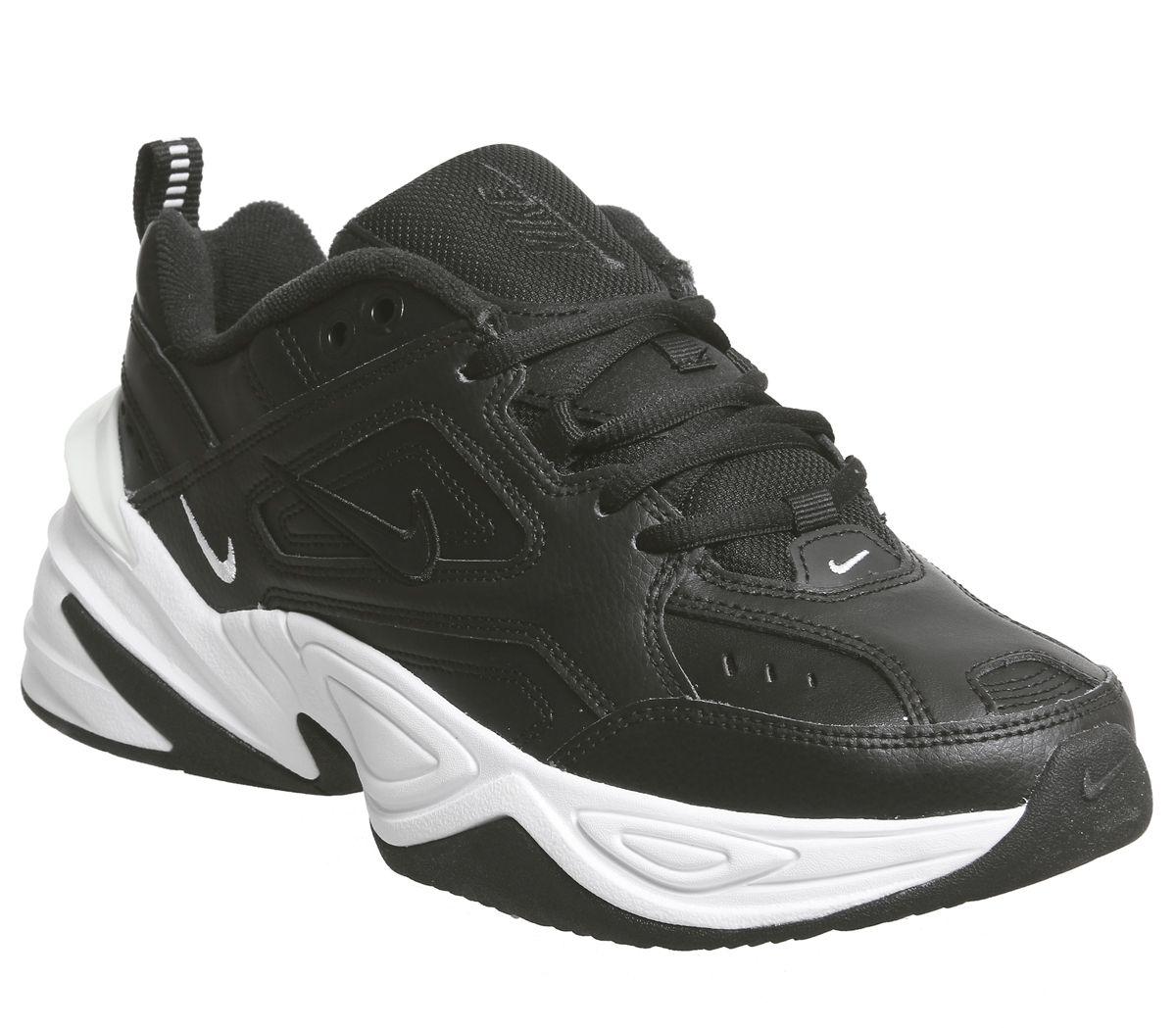 innovative design d492c 98673 Nike M2k Tekno Trainers Black Black White - Hers trainers