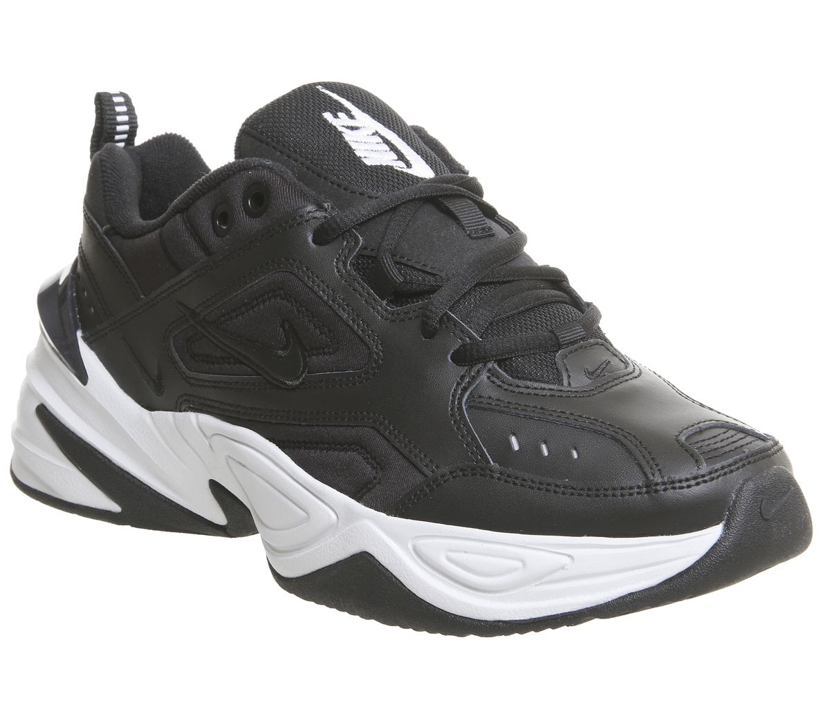 competitive price 3d9fd e308e Nike M2k Tekno Trainers Black White F - Hers trainers