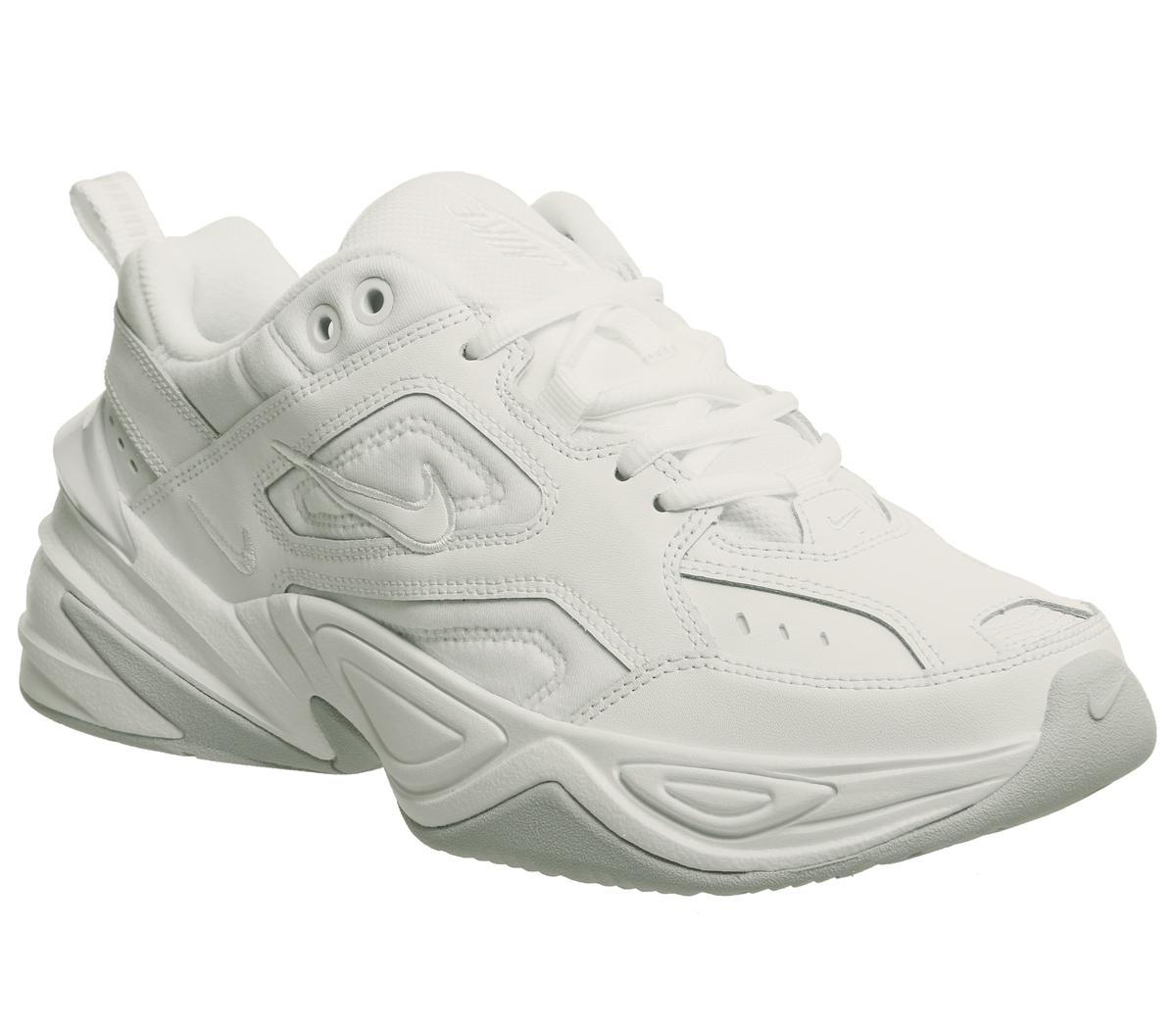 Nike M2k Tekno Trainers White Pure Platinum F Sneaker damen