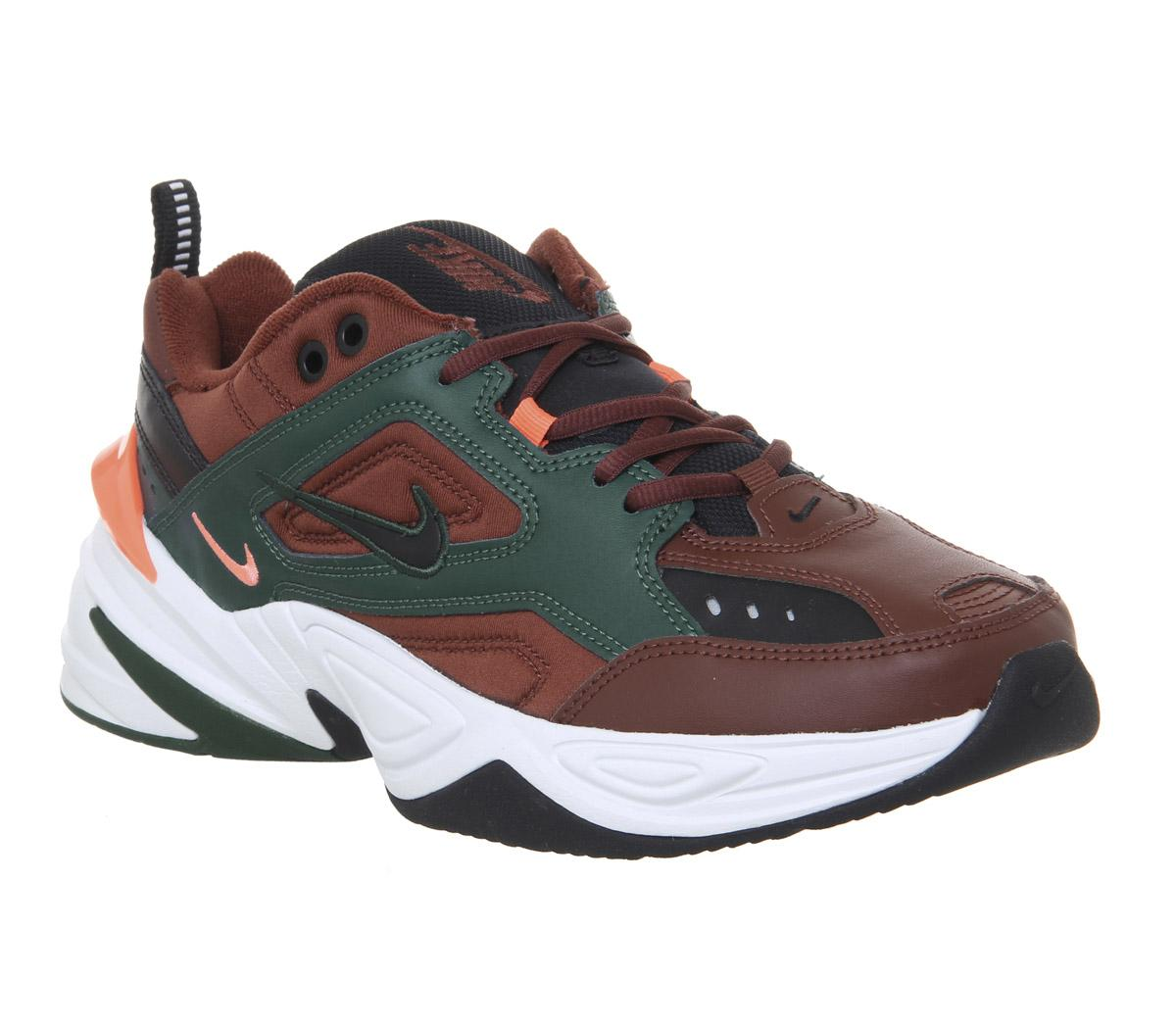 Nike M2k Tekno Trainers Pueblo Brown
