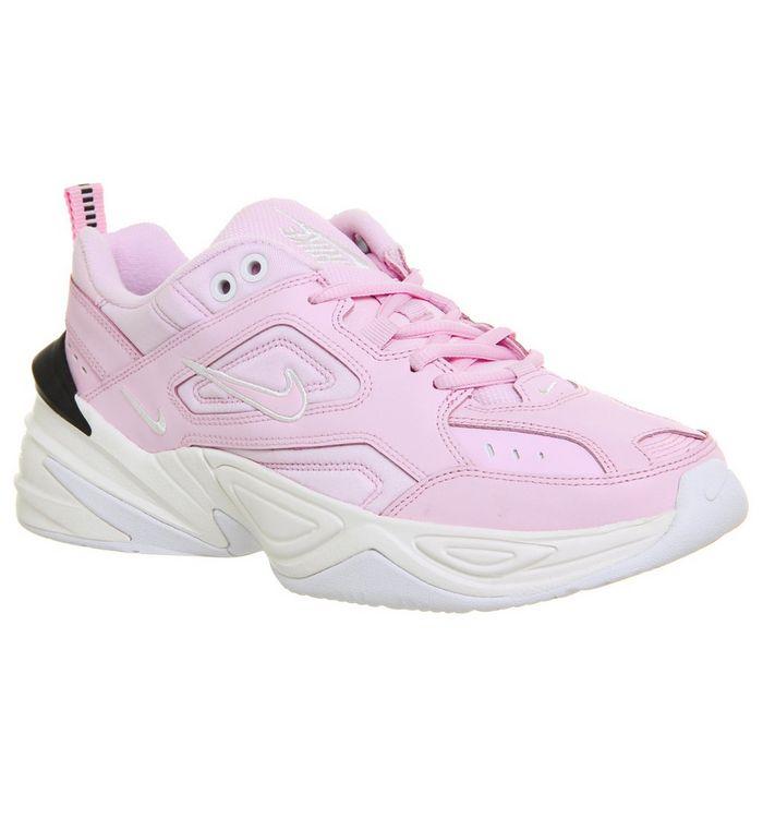 d0a735bea29 M2k Tekno Trainers; Nike, M2k Tekno Trainers, Pink Foam Black Phantom White  F ...