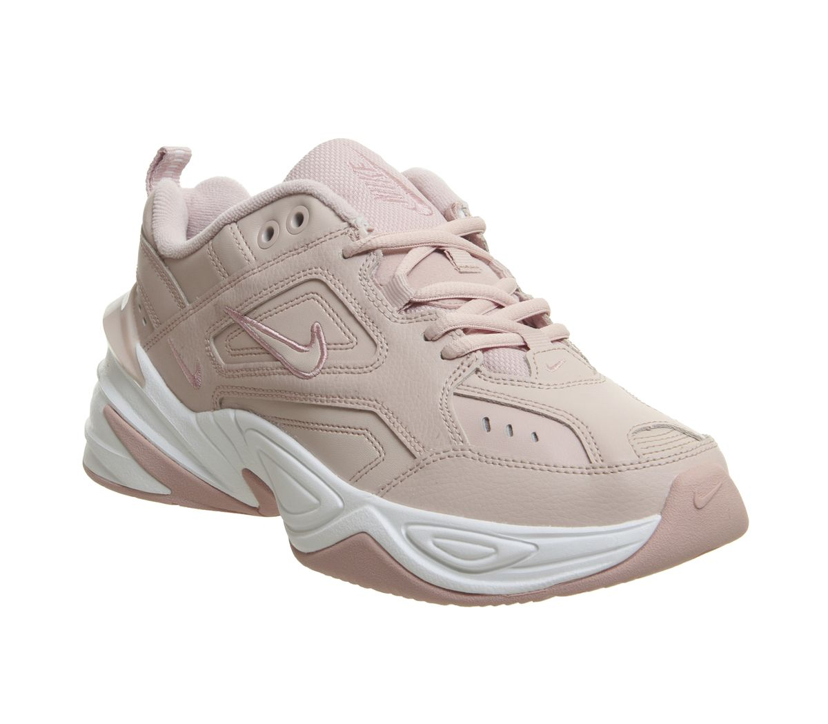 uk availability e964d cafbc Nike M2k Tekno Trainers Particle Beige Summit White - Hers trainers