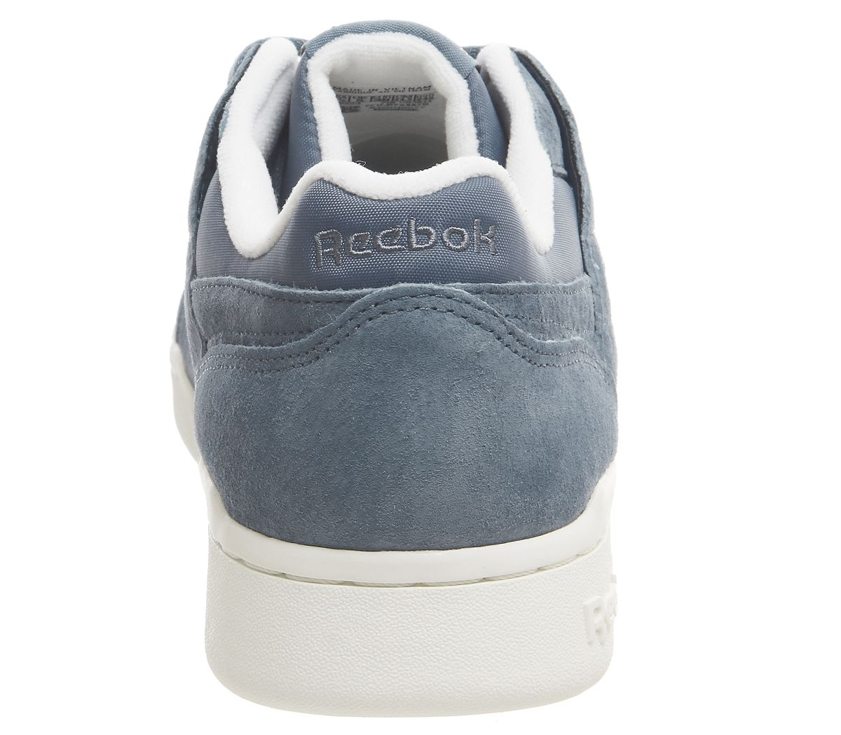 6fc50ff1a29 Reebok Workout Lo Plus Trainers Blue Slate Chalk Brass - Hers trainers