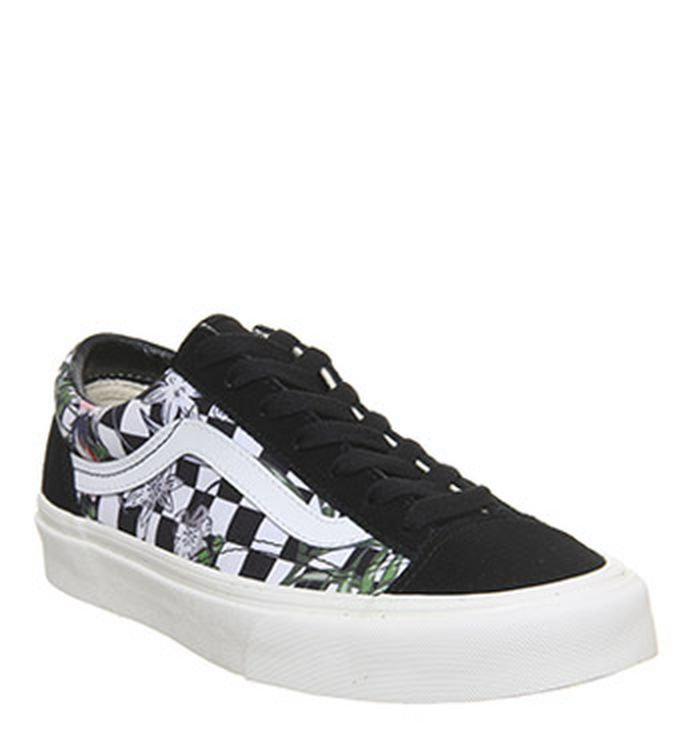 f0ca393d32 27-03-2019. Vans Style 36 Trainers Black Tropical Checkerboard Exclusive