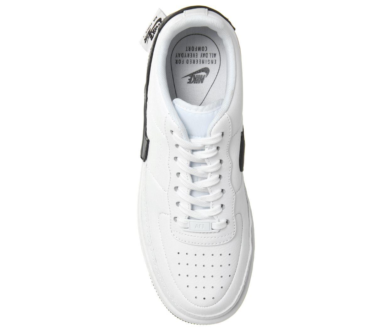 on sale 847ee debd7 Nike AF1 Jester XX White Black - Hers trainers