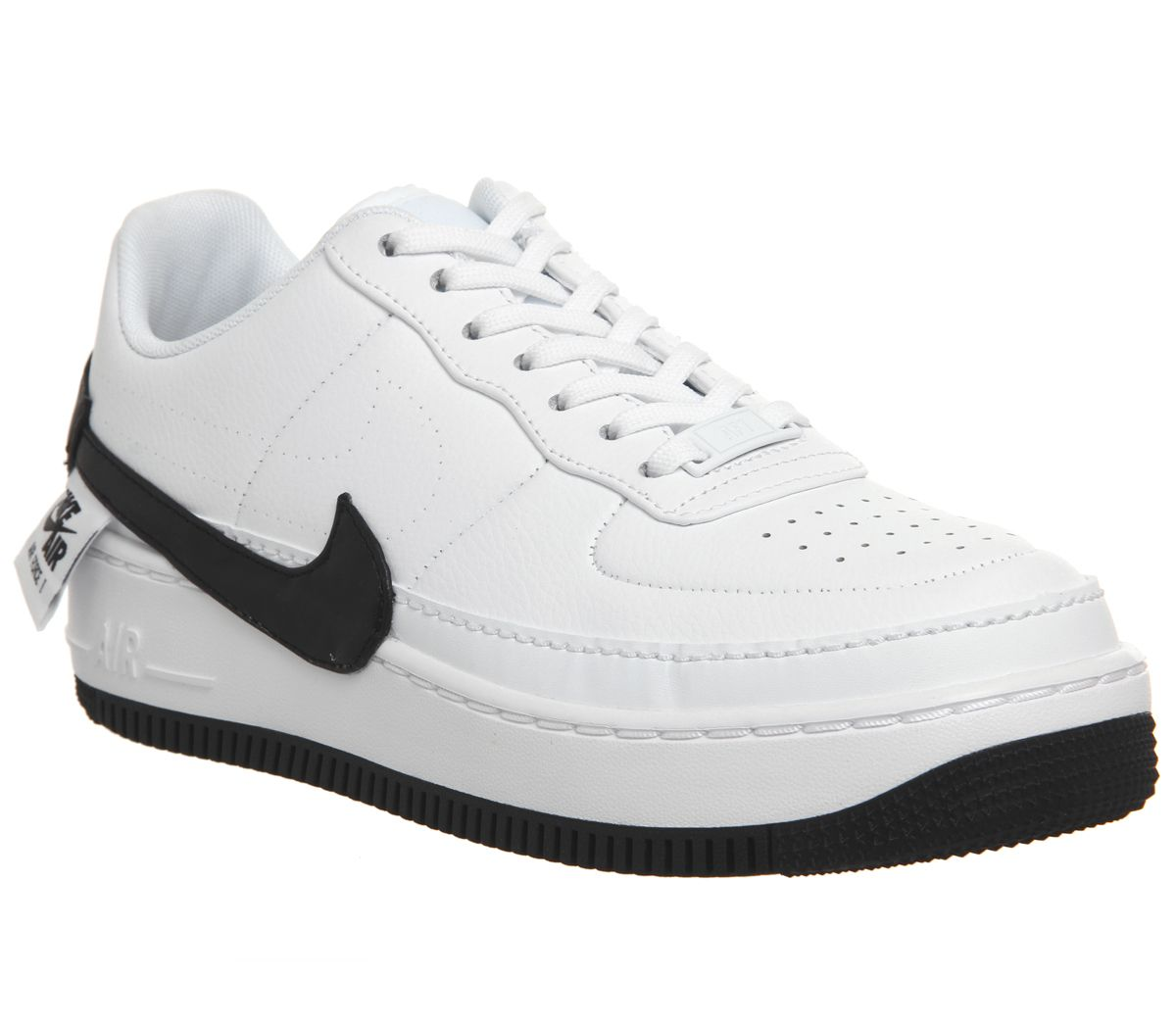reputable site 5792c cffae Nike AF1 Jester XX Trainer White Black - Hers trainers