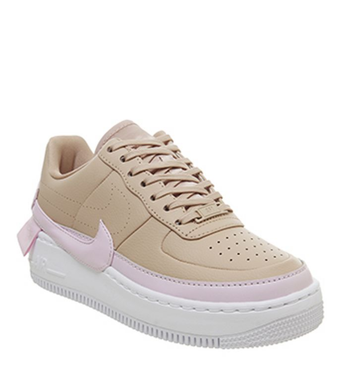 06b173418 09-01-2019 · Nike Air Force 1 Jester Trainers Bio Beige Pink Force White.  110