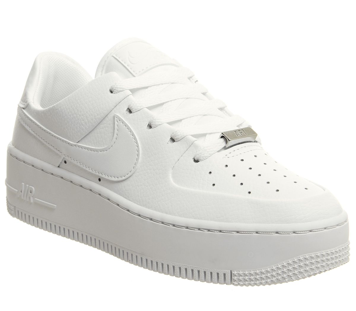 6d863cf6e8 Nike Air Force 1 Sage Trainers White - Hers trainers