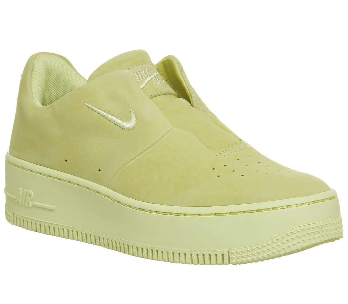 5a587760d Nike Air Force 1 Sage Trainers Lemon Green - Hers trainers
