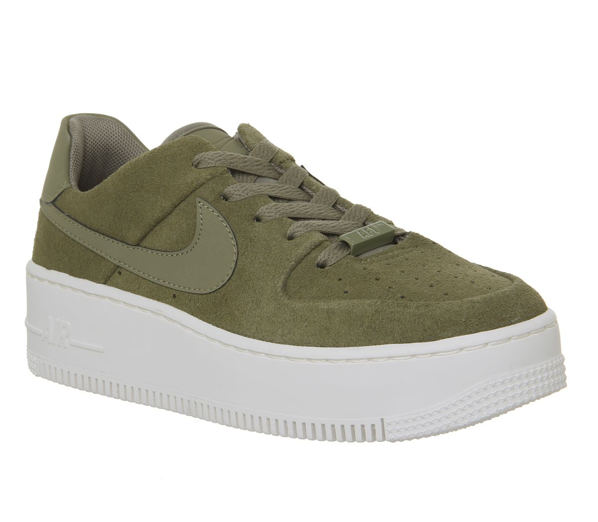 922aa4febf572a Nike Air Force 1 Sage Trainers Trooper Phantom - Hers trainers