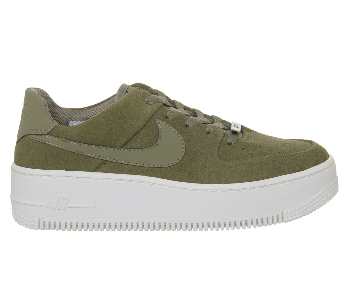 04127644d Nike Air Force 1 Sage Trainers Trooper Phantom - Hers trainers