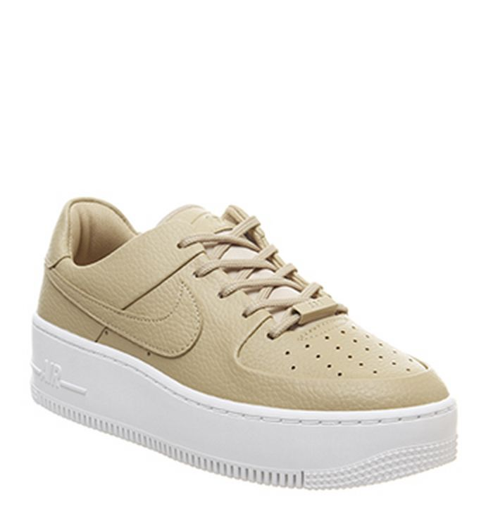 the best attitude d340a d369a 15-05-2019. Nike Air Force 1 Sage Trainers Desert Ore Desert Ore. £84.99.  Quickbuy