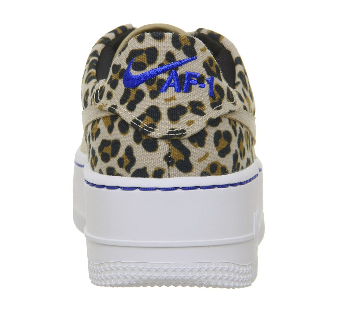 f045e19f35 Nike Air Force 1 Sage Trainers Desert Ore Wheat Leopard - Hers trainers