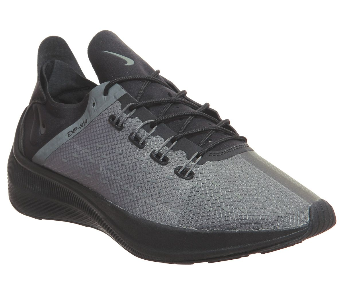3a36a73e0 Nike Nike Exp- X14 Racer Trainers Black Dark Grey Wolf Grey - His ...