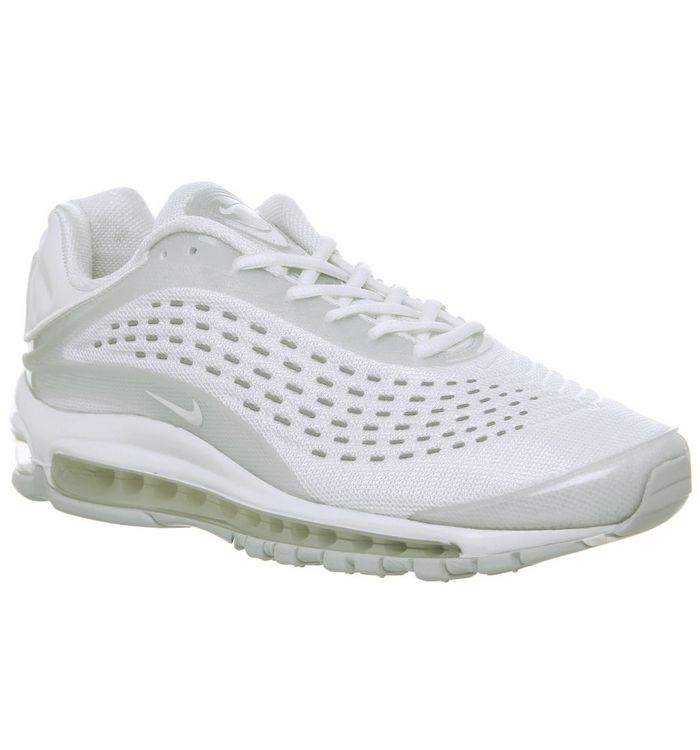 4da39b78ce Air Max Deluxe Trainers; Nike, Air Max Deluxe Trainers, White Sail Pure  Platinum ...