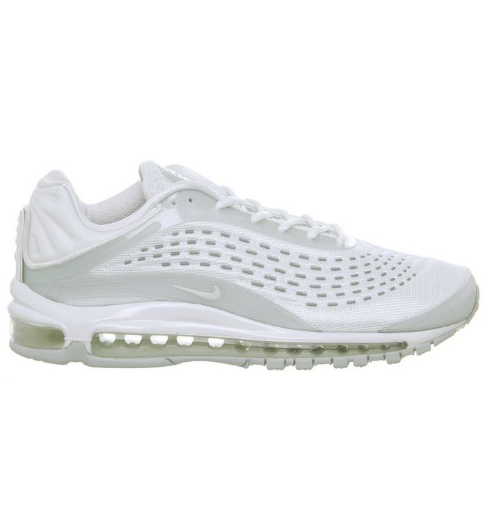 b31354cc0d Nike Air Max Deluxe Trainers White Sail Pure Platinum - Unisex Sports
