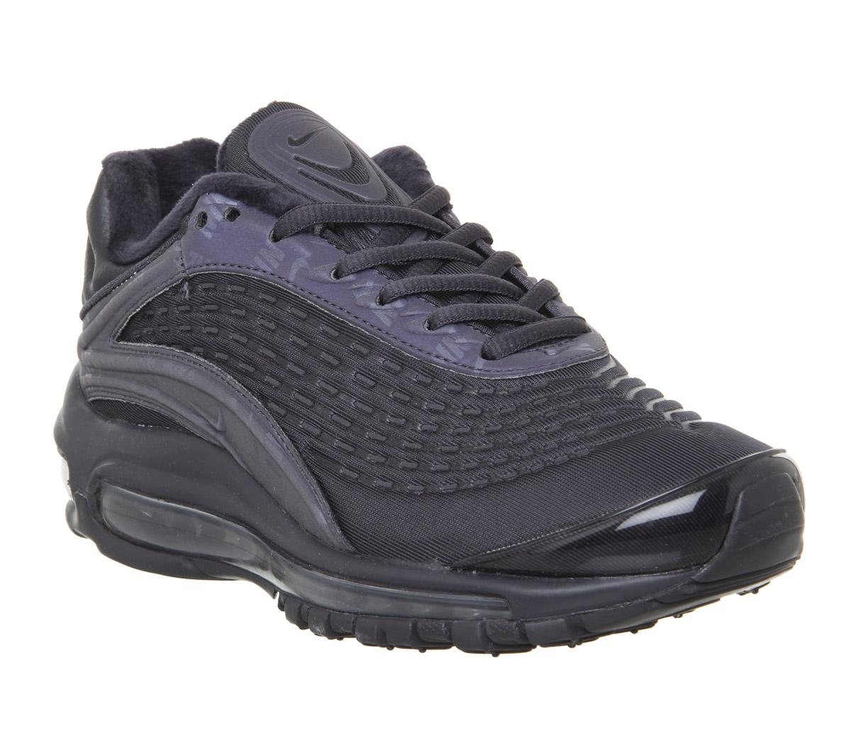 Nike Air Max Deluxe Trainers Oil Grey