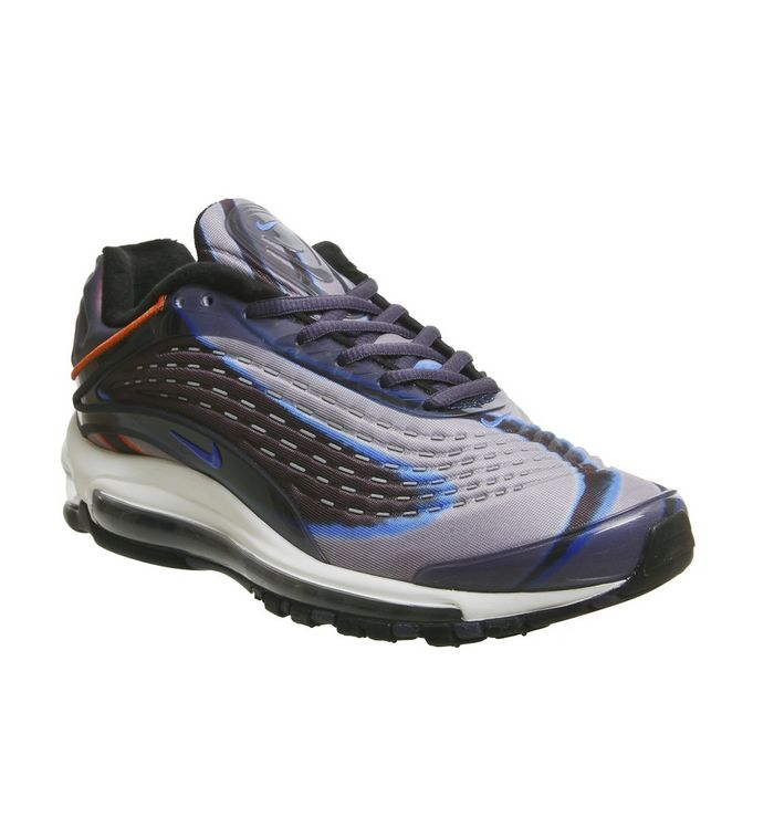 8879a15b33e66 Air Max Deluxe Trainers; Nike, Air Max Deluxe Trainers, Thunder Blue Photo  Blue Dark Russet Black ...