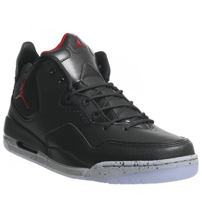 7dd336104304a Jordan Jordan Courtside 23 Black Gym Red Particle Grey - His trainers