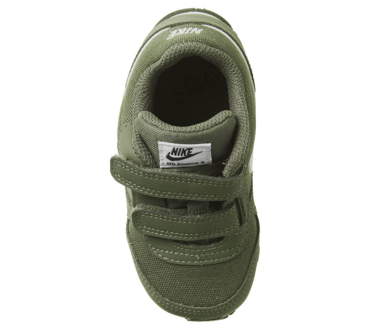 10ed6b4a8e Nike Md Runner Infant Medium Olive White Black - Unisex