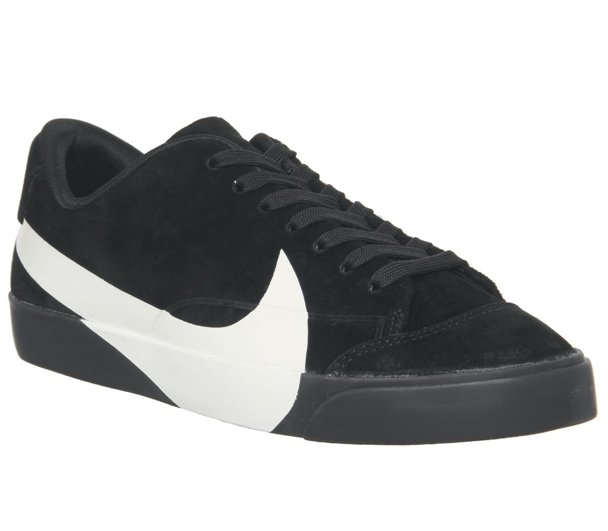 e67dd3e465b1 Nike Blazer City Low Trainers Black White - Hers trainers