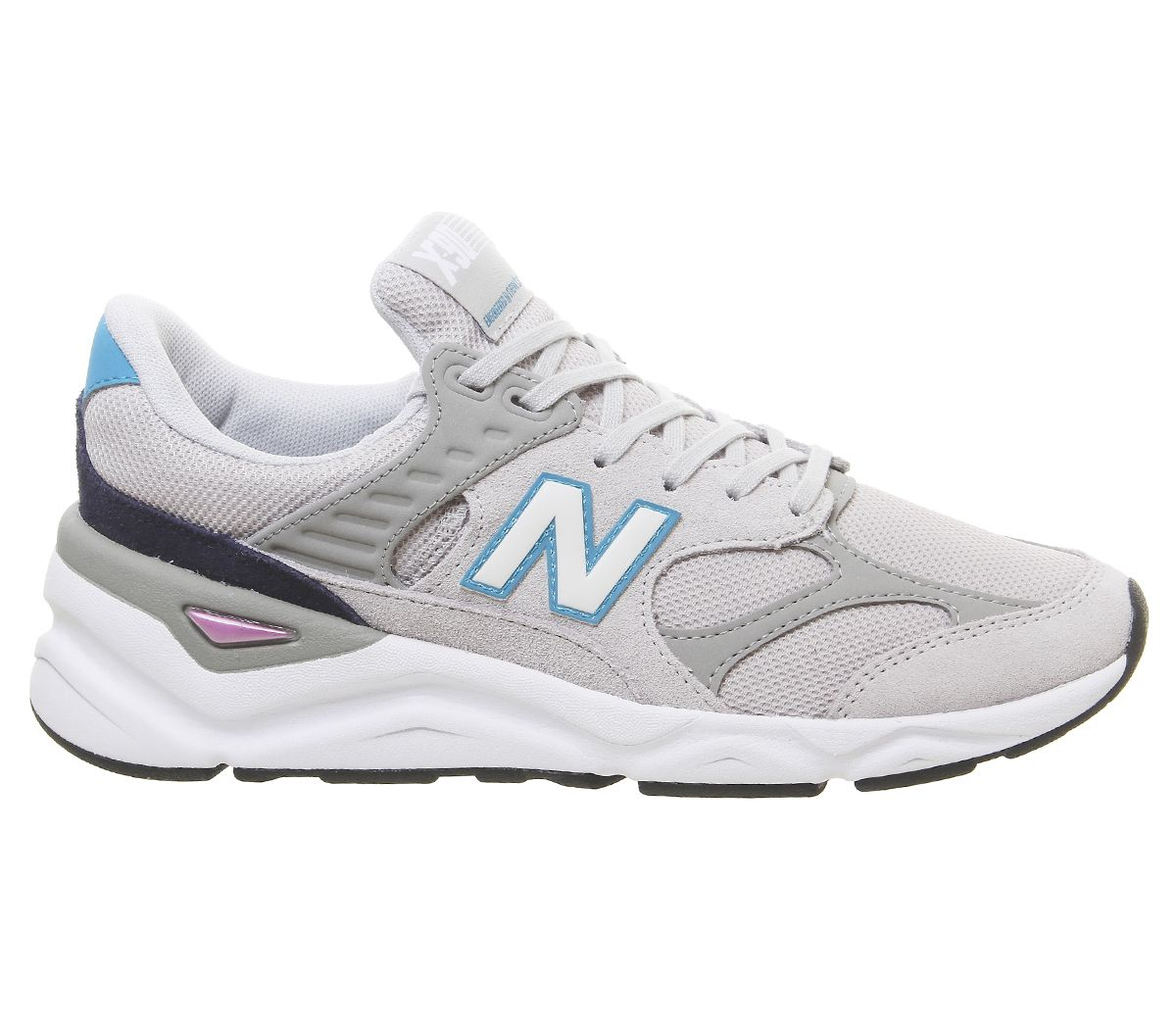 detailed pictures 50dd6 59b29 New Balance X90 Trainers Rain Cloud Deep Ozone Blue - His trainers