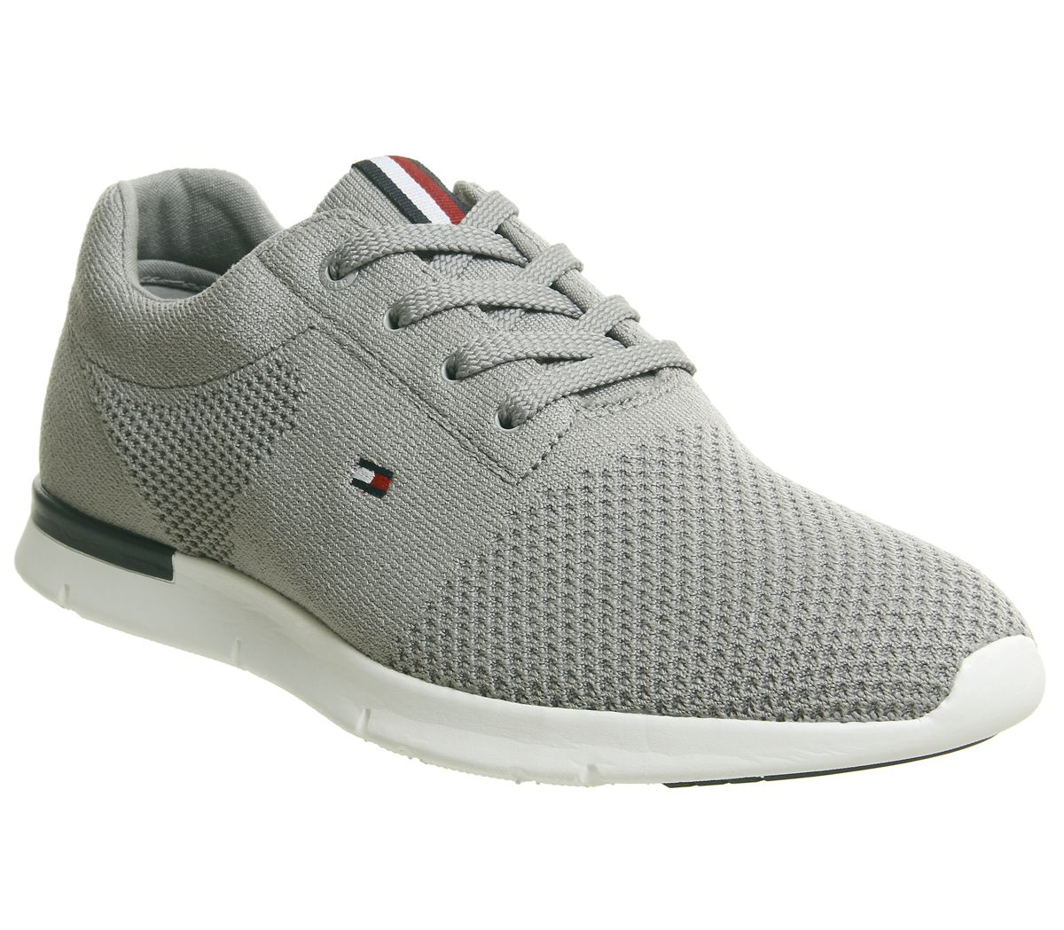 fc7d15f8 Tommy Hilfiger Tobias Trainers Drizzle Grey - Casual