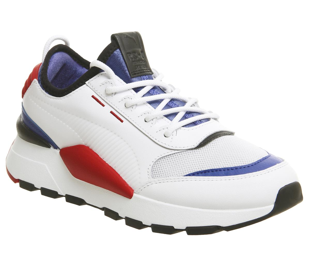Puma Rs-0 Sound Trainers Puma White Blue Red - Sneaker damen